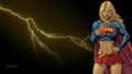dc-comics - Supergirl and Lightning  1  wallpaper wallpaper