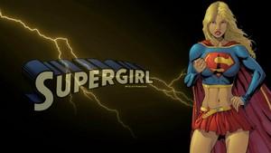 Supergirl Wallpaper - Lightning   wallpaper