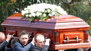 Theresa Saldana's Funeral Back In 2016