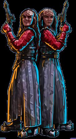 The Duras Sisters -  B'Etor and Lursa