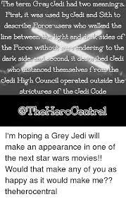 A Grey Jedi