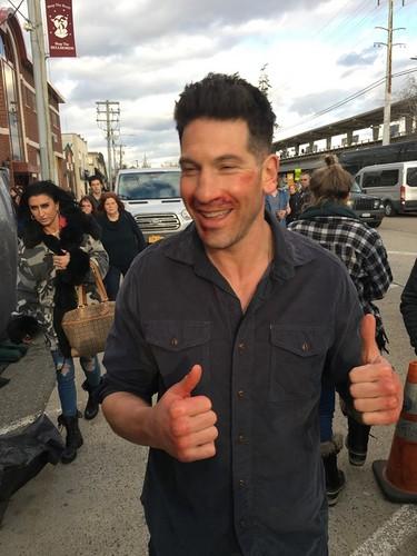 The Punisher - Netflix 바탕화면 entitled The Punisher Season 2 On Set picture