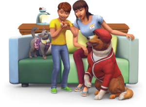 The Sims 4: My First Pet Stuff Renders