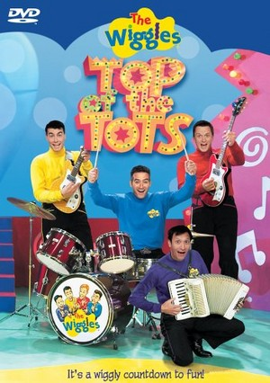 The Wiggles: parte superior, arriba of the Tots (US Cover) (2003)