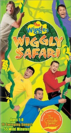 The Wiggles: Wiggly Safari (US Cover) (2002)