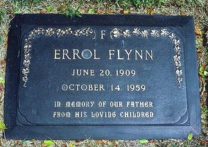 The Gravesite Of Errol Flynn