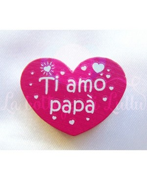 Ti amo papà! (I love you dad!)