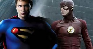 Tom welling and Flash