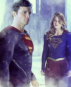 Tom welling and Supergirl