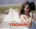 Troian Bellisario - pretty-little-liars-tv-show wallpaper