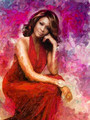 Whitney Houston  - celebrities-who-died-young fan art
