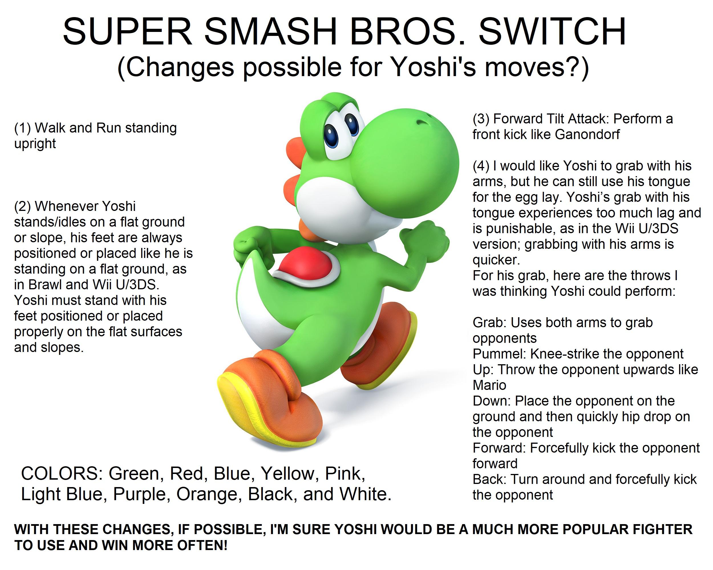 yoshi super smash bros 5 images yoshi super smash bros switch
