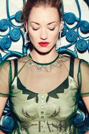 Yvonne Strahovski ~ Fashion Magazine Photoshoot