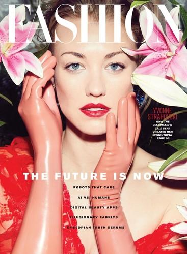 Yvonne Strahovski Hintergrund entitled Yvonne Strahovski ~ Fashion Magazine Photoshoot