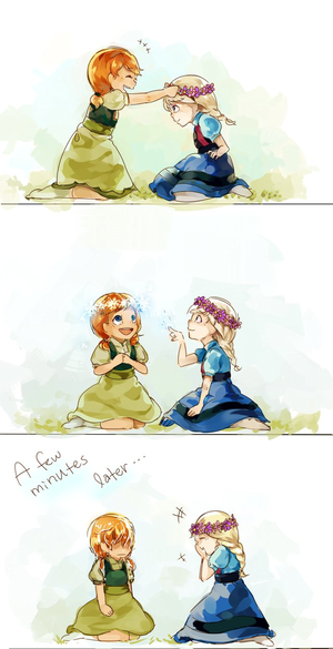 anna and elsa by gumithealien d77ome1