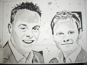 ant and dec by coffee58 d63bmu4