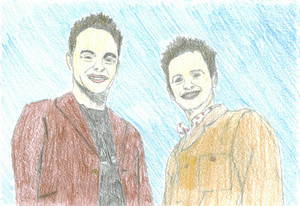 ant and dec by sexygreenshego