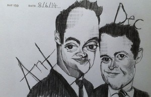 ant and dec by vennie d7lntc8