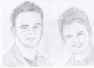 ant and dec sketch by scarper493