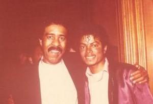 Richard And Michael Jackson