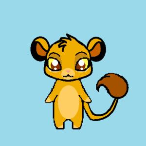chibi simba