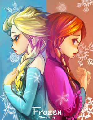 elsa and anna by boringmu d78bkus
