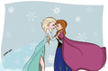 elsa and anna by drop dead13 d6r0qt5 - elsa-and-anna photo