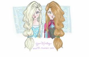 elsa and anna door ellphie d76xznl