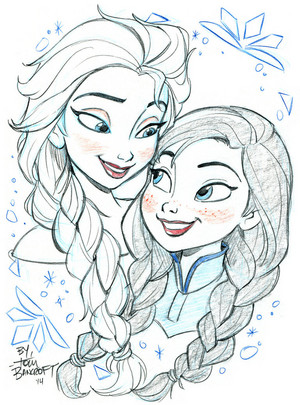 elsa and anna da tombancroft d7ftf0n