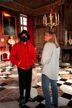 Michael And saat Wife, Debbie Rowe
