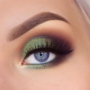 green smokey makeup syoih 300x300