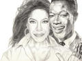 "Natalie And Nat ""King"" Cole  - nat-king-cole fan art"
