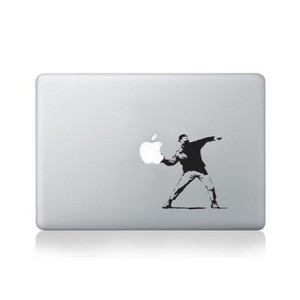macbookBanksysticker