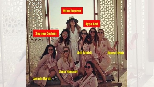 Celebrities who died young wallpaper entitled mina başaran and her friends died plane accident