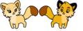 nala and simba rubah, fox
