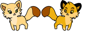 nala and simba 狐, フォックス