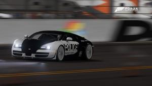 the car tunjuk studio with paint jab Rekaan Commercial Forza Motorsport 6 Bugatti