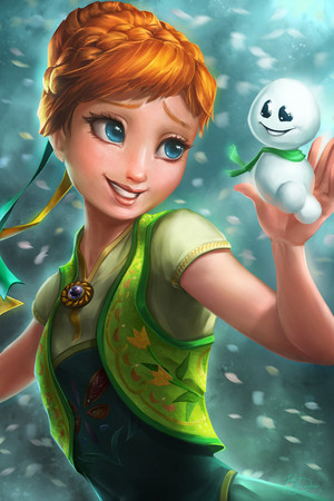 Anna~Frozen  ❤
