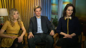 Dan Stevens, Michelle Dockery and Joanne Froggatt
