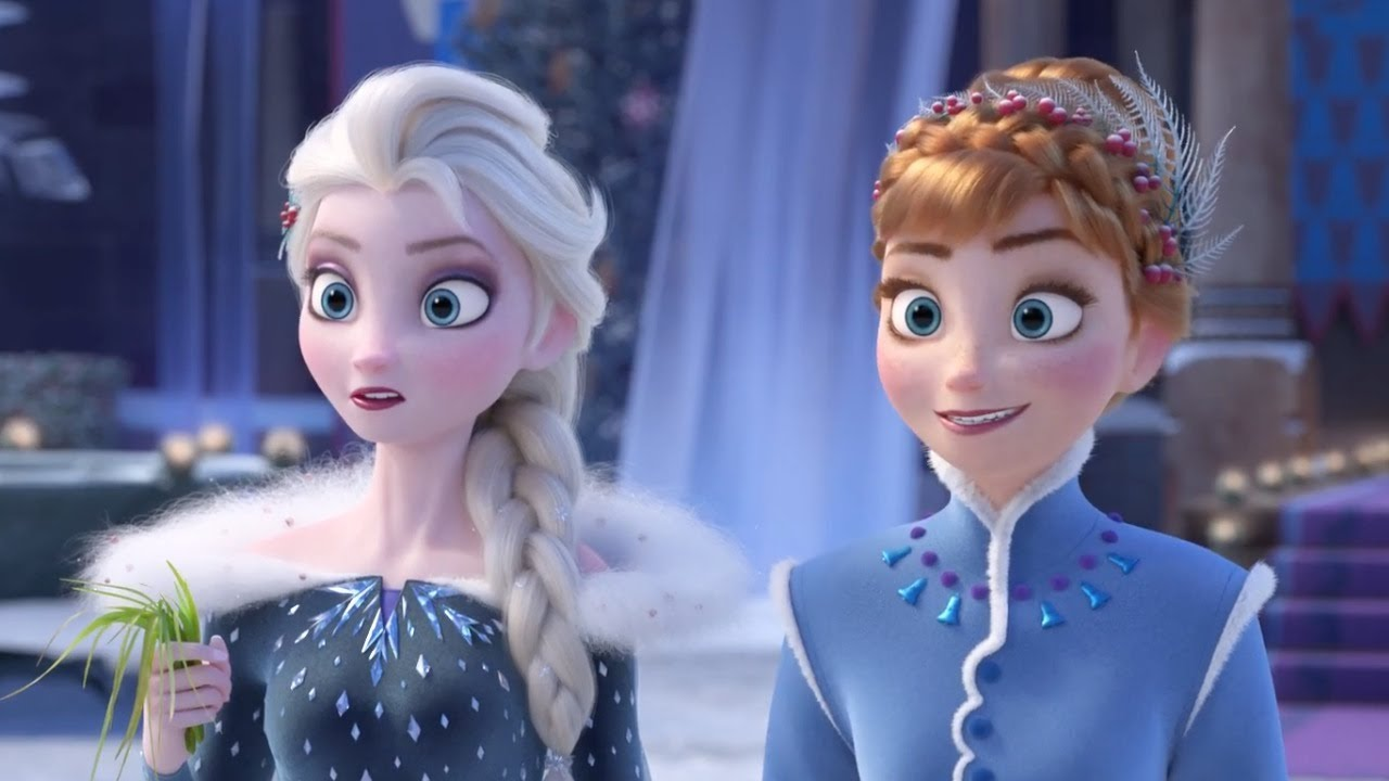 pinkydoll images elsa and anna~frozen ❤ hd wallpaper and background