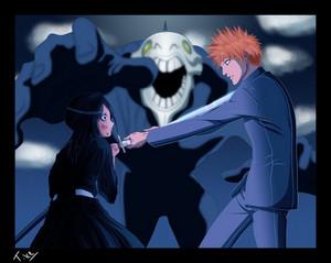 *Rukia Transfer Her Soul Reaper Powers To Ichigo: Bleach*