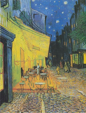 Vincent mobil van, van Gogh Cafe Terrace At Night