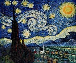 Vincent वैन, वान Gogh Starry Night