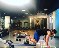 Workout Partners! - stephen-amell-and-emily-bett-rickards photo