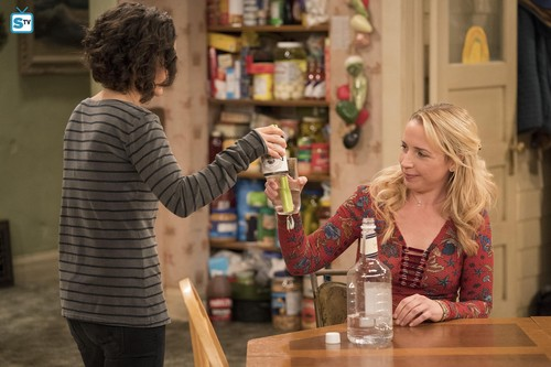 Image result for roseanne 2018 becky drink