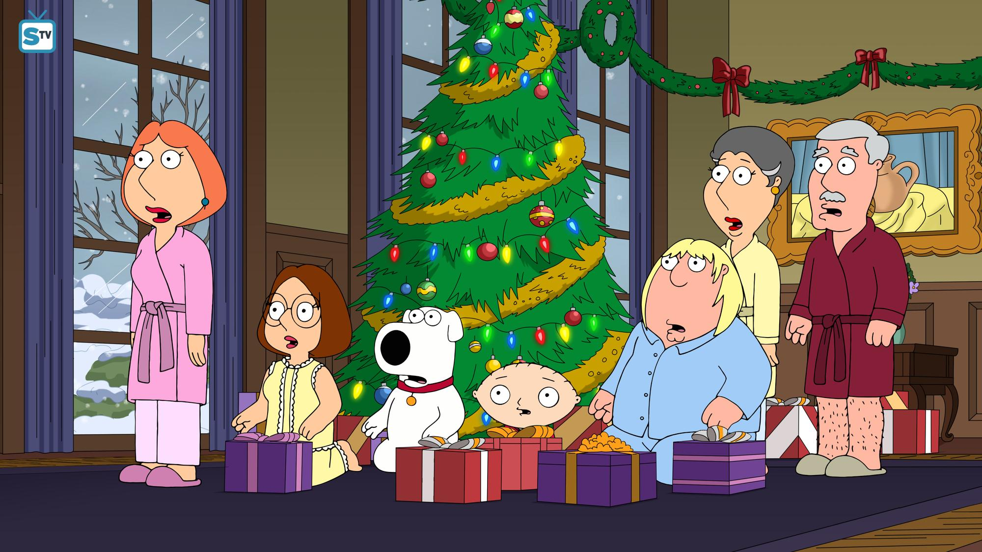 "Family Guy Hintergrund entitled 16.09 - ""Don't Be a Dickens at Christmas"""