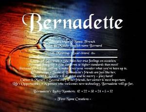 Bernadette 💙❤️