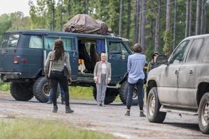 8x12 ~ The Key ~ Georgie, Michonne, Maggie and Midge