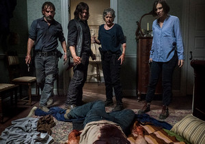 8x13 ~ Do Not Send Us Astray ~ Carol, Daryl, Rick and Maggie