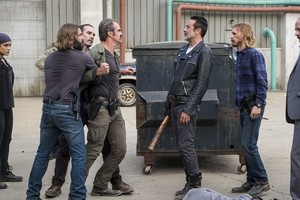 8x15 ~ Worth ~ Negan, Dwight, Simon and Arat